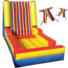Inflatable Sports Toy: Funny Velcro Sticky Wall Jumping Game.