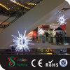 Luzes de suspensão da estrela do Natal, luzes decorativas do motivo da estrela 3D