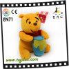 Giocattolo giallo dell'orso di Weini della peluche (TPJR0143)