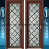 Двери ванной комнаты Casement матированного стекла алюминиевые для нутряного украшения