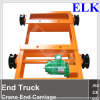 1ton Double Track Trolley/Extremo Carraige /End Truc/Crane Saddle