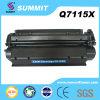 Cartucho de toner compatible del laser de la fabricación para HP Q7115X
