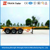 3-Axle 40foot Skeleton Container Transport Semitrailer mit Twist Lock auf Hot Sale