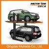 Zwei Pfosten-automatisches hydraulisches doppeltes Auto-Parken-Aufzug-System