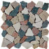 2016 Pebble natural Stone Mosaic para Floor Decoration (I 1290)