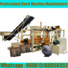 Bloc Qt4-18 hydraulique automatique faisant la machine au Ghana
