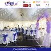 井戸は結婚式のための結婚披露宴のテントを飾った