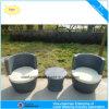 Комплект кофеего уютного патио ротанга мебели сада Wicker (4284)