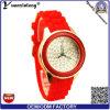 Relojes promocionales al por mayor ocasionales de las mujeres Yxl-184, mujeres ocasionales del reloj del silicón del diamante del reloj del cuarzo de las señoras