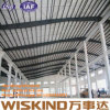 La construcción de edificios proyecta la estructura de acero prefabricada, taller constructivo de la estructura de acero de la vertiente de la estructura de acero