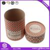 Kundenspezifische runde Pappverpackengeschenk-Duftstoff-Kosmetik-Kasten