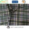 Polyester-Check-Muster-Druck-Futter für Kleider der Männer