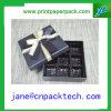 Rectángulo de regalo de empaquetado de encargo del papel del rectángulo del chocolate del rectángulo