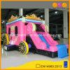 子供(AQ07154)のためにコンボBouncer Slide Inflatable Car熱い販売の王女