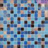 Blaues Baumaterial-Mosaik-Fliese-Glasmosaik für Swimmingpool