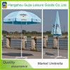 Paraguas al aire libre Anti-ULTRAVIOLETA modificado para requisitos particulares durable del mercado de la impresión