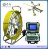 Inspection de l'endoscope par endoscopie de tuyau d'évacuation des eaux usées CCTV Contrôle de serpent avec compteur et disque dur