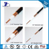 PE 3D-Fb Foam kabeltelevisie Feeder Coaxial Cable van Insulated