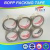 Cinta adhesiva plana del paquete BOPP de Hongsu