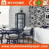 Papel de parede de papel puro decorativo para paredes