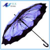 بالجملة نوعية صنع وفقا لطلب الزّبون يطبع مستقيمة مطر مظلة