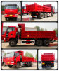 Faw vermelho Good Quality Low Price 280HP Dump Truck