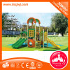Kind-Spielplatz-Plättchen-im Freienspielplatz-Gerät