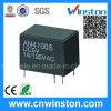 релеий силы PCB домочадца допустимой мощности на контактах 5A электромагнитное с CE