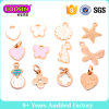 Modo Rosa Gold Plated Small Bracelet Charm per Kids #B106