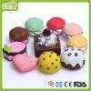 Vinylsüsses Kuchen-Haustier-Spielzeug (HN-PT672)