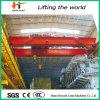 Maquinaria de elevación grúa de arriba del puente de viga del doble de 20 toneladas