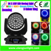 36X10W RGBW 4 In1 DEL Moving Head Light