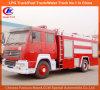 頑丈なSinotruk HOWOトラック7000リットルの水泡の消火活動の