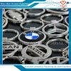 Étiquette en alliage de zinc en métal de trousseau de clés de marque de voiture de vente en gros de cadeau de promotion