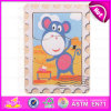 Шарж 2015 Shape Wooden Puzzle Toy для Kid, зигзага Puzzle Game Toy DIY для Children, Fashion Good Wooden Puzzles Set Toy W14c199