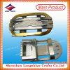 中国の工場カスタム方法亜鉛合金の金属の人の女性のベルトの留め金