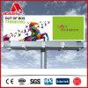 Cartelera publicitaria puesta a contraluz al aire libre impermeable de la exhibición de Quanlity del camino de ciudad alta