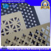 Hoja de metal perforada galvanizada decorativa con Ce y el SGS