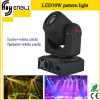 10W DEL Moving Head Beam Stage Lighting pour Concert (Hl-014st