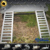 ATV Container Plant Low Bed Platform Trailer mit Steel Cage (SWT-PT126)