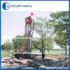 Installation de foret agricole portative de puits d'eau