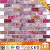 목욕탕 벽 (L824001)를 위한 유리제 모자이크 분홍색 색깔
