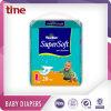Usine somnolente remplaçable molle et sèche d'absorption élevée de la qualité 2016 de Clothlike de bébé de couches-culottes d'OEM