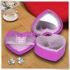 Fábrica de cuero de la PU caja de regalo de cartón de papel Mini anillo de la pulsera de regalo