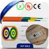 FTTH Indoor Fiber Optical Cable Duplex Flat Indoor Cable 2A