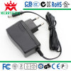 EU Wall Plugs 9V 2000mA Switching Adapters, AC에 세륨, RoHS, LVD 및 GS Certificates와 더불어 DC,