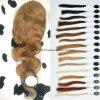 24  perruques de face de lacet non transformé des cheveux humains 7A de l'onde #18 de corps Main-Attachées