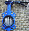 Cast Iron/Ductile Iron Pn10/Pn16 Dn80 Wafer Butterfly Valve