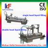 Máquina de embotellado líquida semi automática inoxidable del precio de la máquina de rellenar del acero