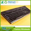 Soporte anguloso de acrílico y robusto claro del teclado